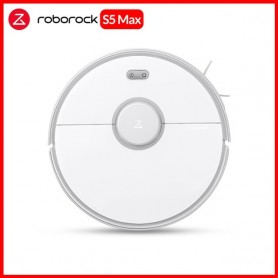 Roborock - Robot aspirador S5 Max para el hogar, barrido inteligente, limpieza robótica