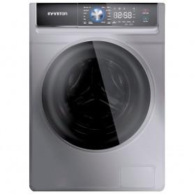 Lavadora INFINITON WM-K10IN - Inox, 9kg, A+++ Inverter, 1400rpm, 16 programas