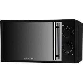 Cecotec ProClean 3050 Microondas 20L Tecnología 3DWave 700W en 6 Niveles Diseño Plateado Elegante