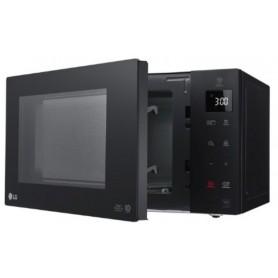 Microondas con grill LG MH6535GIB, 25 litros, color negro