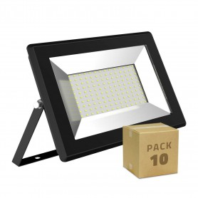 Pack 10 unidades Foco Proyector LED Solid 100W