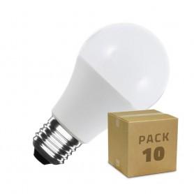 Pack 10 unidades Bombillas LED E27 A60 5W 7W 10W 12W SMD2835 Bombilla LED