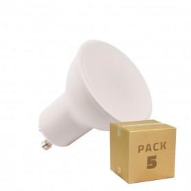 Pack 5 unidades Lámparas LED GU10 S11 120º 6W  220V