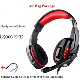Auriculares Gaming Con Cable y micrófono Con luz