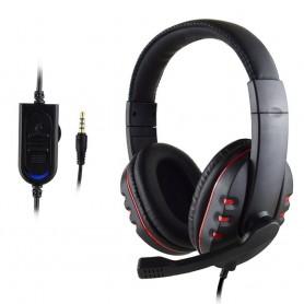 Auriculares con micrófono Hi-Fi para videojuegos