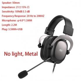 Auriculares con cable jugador PS4 PC sonido envolvente y micrófono HD