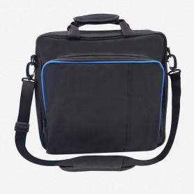 Bolso de lona para consola PS4 / PS4 Pro Slim, bolsa protectora para hombro