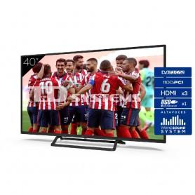 Televisores 39,5 Pulgadas TD Systems K40DLX11F, 3x HDMI, USB Grabador reproductor, DVB-T2/C/S2 [Envío desde España]