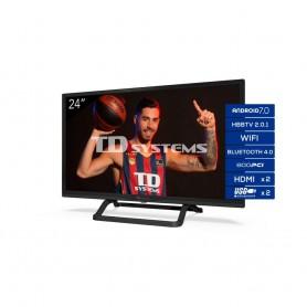 Televisores Smart TV 24 Pulgadas TD Systems K24DLX11HS. 2x HDMI, DVB-T2/C/S2, HbbTV