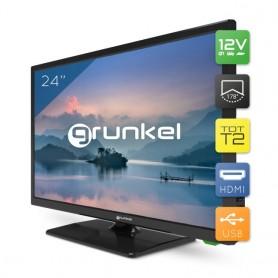Grunkel - LED-24 IV2 - Televisor LED HD Ready Alta definición - 24 Pulgadas [Clase de eficiencia energética A]