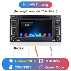Radio Android Para VW Touareg 2004, 2005, 2002-2010 Transporter T5 Multimedia GPS