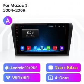 Radio Android para Mazda 3 (2004-2013)