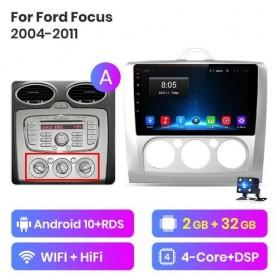 Radio Android para Ford Focus MK2 (2004-2011)
