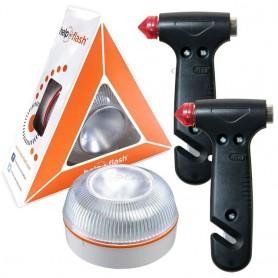 Help Flash | Luz de emergencia autónoma con accesorios