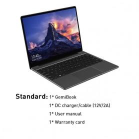 CHUWI-portátil GemiBook de 13 pulgadas, resolución 2160x1440, pantalla 3:2, Intel Celeron J4115, Quad Core, 12GB RAM, 256GB, SSD