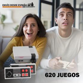 Consola 620 Juegos | Game Retro | Tetris Game | Consola Juegos | Mini Consola Retro | Juego Retro
