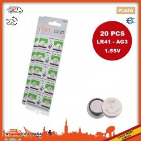 Pilas Boton | LR41 | AG3 | 1.55V | Pilas de reloj | Pilas de boton | Pila Reloj | Pila Boton | Pilas LR41