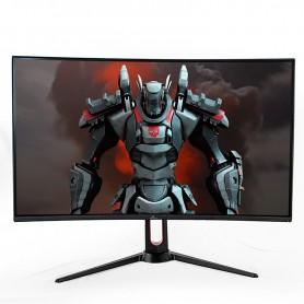 YEYIAN Gaming Monitor Curvo 31.5 '' Sigurd, HDMI, Display Port, 1ms Tiempo de Respuesta, Salida de Audio (YMC-70201)