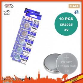 Pilas Boton | CR2025 | 3V | Pilas de reloj CR 2025 | Pilas de boton | Pila Reloj | Pila Boton | Pilas CR2025