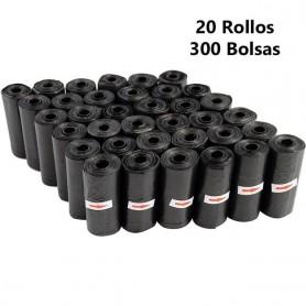 Bolsas de caca de perro Multicolor o Negro | Compatible con dispensador