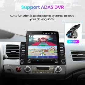 Reproductor multimedia con Android 8.1 para Honda Civic 2005-2011