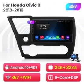 Radio Multimedia para Honda Civic 4d 9 (2013-2016)