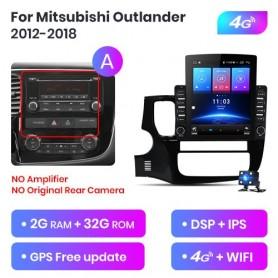 Radio Android para Mitsubishi Outlander 3 (2012-2018)