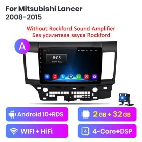 Radio Android para Mitsubishi Lancer 10 (2008-2012)