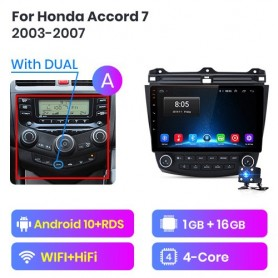 Radio Android para Honda Accord 7 (2003-2007)