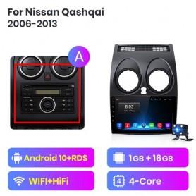 Radio Android para Nissan Qashqai 1 (2006-2013)