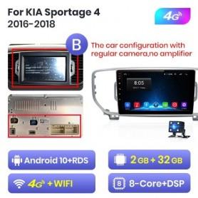 Radio Android para KIA Sportage 4 (2016-2018)