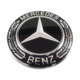 Logo Mercedes compatible 74mm emblema de automóvil insignia para llanta de rueda