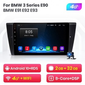 Radio Android para BMW E90, E91, E92, E93, Serie 3