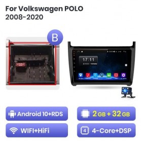 Radio Android para VW, Volkswagen POLO (2008-2020)