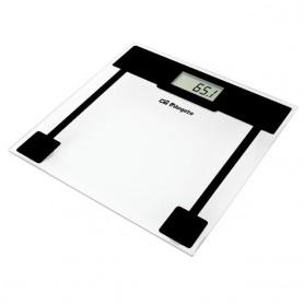 Orbegozo Báscula de baño PB 2010, antideslizante, 120kg, báscula mecánica, control de peso, blanca, 1kg de escalado