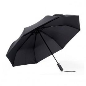 Xiaomi Automatic Umbrella, paraguas plegable, negro, resistente, ligero, cierre y apertura automático, poliéster y aluminio