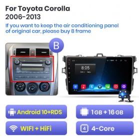 Radio Android para Toyota Corolla E140 E150 (2006-2013)