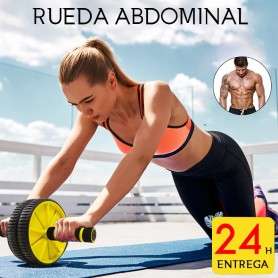 Rueda Abdominal Rodillo Abdominales Aparatos de Ejercicio