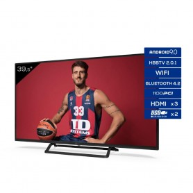 Televisores Smart TV 39,5 Pulgadas TD Systems K40DLX11FS 3x HDMI, DVB-T2/C/S2, HbbTV