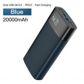 Banco de energía 20000 mAh QC PD 3,0