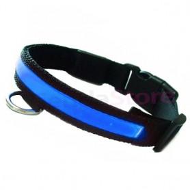Collar LED para perros y gatos con iluminación de colores