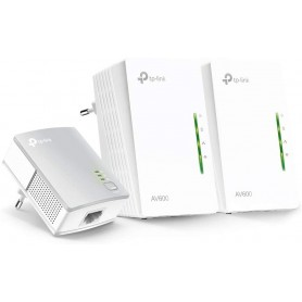 TP-LINK TL-WPA4220T KIT, Hasta 500 Mbps, Wi-Fi AV600, Amplia cobertura WiFi