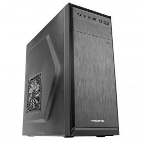 Tacens 2ALUIII, Saja de PC, Semitorre ATX, Ventilador 12 cm, Caja de Ordenador Aluminio Pulido, USB 3.0