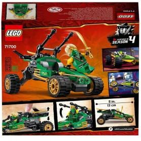 LEGO NINJAGO, Buggy de la jungla, Lego 71700, Ninjago, 127 piezas Lego, Lego coches
