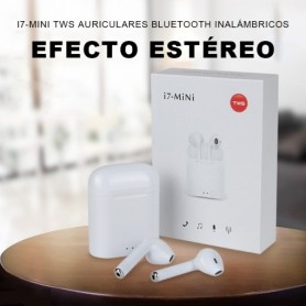 i7Mini tws Auriculares bluetooth inalambrico airpods con micrófono y caja de carga