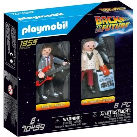 Regreso al Futuro, Playmobil 70459, Marty McFly y Doctor Emmett Brown Doc