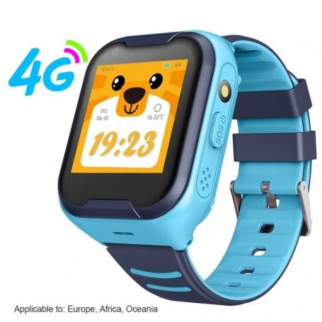 Reloj inteligente para niños, 4G, con GPS, Wifi, Ip67, resistente al agua, Batería grande de 650Mah