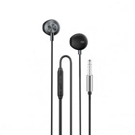 Auriculares intrauditivos estéreo con cable de 3 y 5mm, auriculares con micrófono
