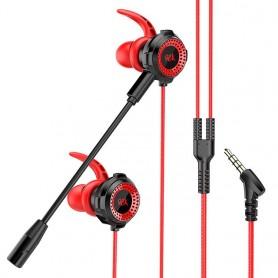 Auriculares de sonido HiFi con cable y micrófono
