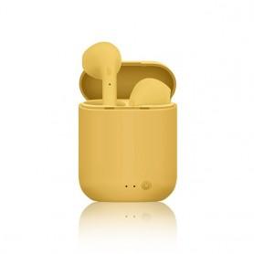 Auriculares TWS Mini 2, inalámbricos por Bluetooth 5,0, Auriculares deportivos con micrófono y caja de carga para iPhone, Xiaomi